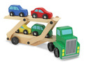 Car Carrier Truck & Cars Wooden Toy Set