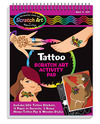 Scratchin' Fashion® Tattoo & Body Art Activity Book