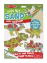 Mess-Free Sand Jumbo Foam Stickers - Dinosaurs