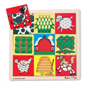 Peek-Through Pattern Puzzle Farm - 9 Pieces
