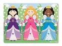 Dress-Up Princesses Peg Puzzle - 9 Pieces