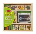 Wooden Stamp Set - Safari Animals