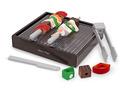 Wooden Grill Slice & Sort Playset