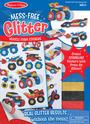 Mess Free Glitter - Vehicle Foam Stickers
