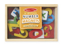 Magnetic Wooden Numbers