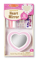 Decorate-Your-Own Wooden Heart Mirror