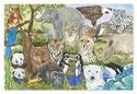 Endangered Species Floor Puzzle - 48 pieces
