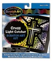 Scratch Art® Cross Light Catcher Kit