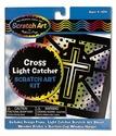Scratch Art® Cross Light Catcher Kit
