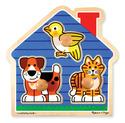 House Pets Jumbo Knob Puzzle - 3 Pieces