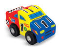 Decorate-Your-Own Race Car Bank
