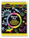 Scratch Art® Sketch Pad Book