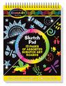 Scratch Art® Sketch Pad Book