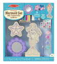 Decorate-Your-Own Wooden Mermaid Set