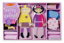 Hailey & Hannah Magnetic Dress-Up Set
