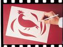 Scratch Art Wax-O Stencil Paper (12 sheets 12