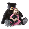 Black Bear and Cub Jumbo Stuffed Animal
