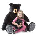 Black Bear and Cub Jumbo Stuffed Animal