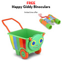 Happy Giddy Cart with FREE Happy Giddy Binoculars