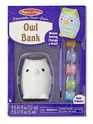 Decorate-Your-Own Owl Bank
