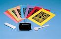 Scratch Art Subi Block Printing Paper Colors (40 sheets 12
