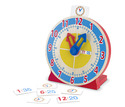 Turn & Tell Wooden Clock