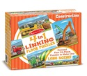 4 in 1 Linking Floor Puzzles - Construction