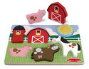 Chunky Puzzle Scene - Barnyard Fun - 6 Pieces