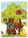 Treehouse Friends Cardboard Jigsaw - 30 Pieces