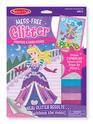 Mess-Free Glitter Princess & Fairy Scenes