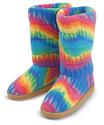 Beeposh Rainbow Boot Slippers (XL)