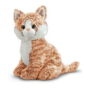 Pumpkin Tabby Cat Stuffed Animal