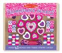Shimmering Hearts Wooden Bead Set