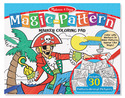 Magic-Pattern Marker Coloring Pad - Blue