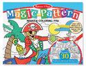 Magic-Pattern Marker Coloring Pad - Blue