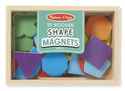 Magnetic Wooden Shapes and Colors