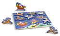 Santa & Reindeer Chunky Puzzle - 9 Pieces