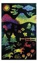 Scratch Art Scratch & Sparkle Multicolor Glitter Board (10 boards)