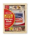 Baby Farm Animal Stamp Set