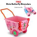 Bella Butterfly Cart with FREE Bixie Butterfly Binoculars