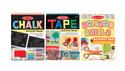 Scissors, Tape, and Chalk Activity Bundle