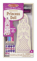 Decorate-Your-Own Wooden Princess Doll