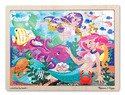 Mermaid Fantasea Wooden Jigsaw Puzzle - 48 pieces