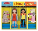 Chloe & Zoe Magnetic Dress-Up Set