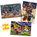 Sports Floor Puzzle Pack