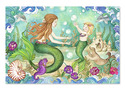 Mermaid Playground Floor Puzzle - 48 pieces