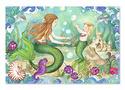Mermaid Playground Floor Puzzle - 48 pieces