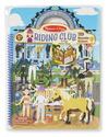 Puffy Sticker Activity Book - Riding Club
