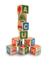 ABC/123 Wooden Blocks