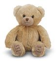 Mealtime Prayer Bear Stuffed Animal
